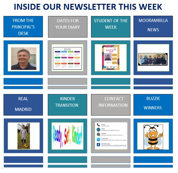 INSIDE THE NEWSLETTER THIS WEEK