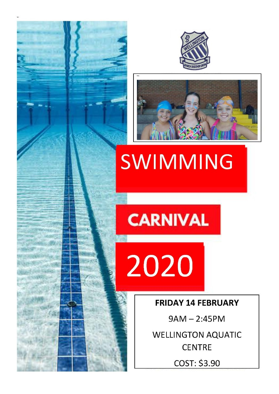Wellington Public School Swimming Carnival 14 February 2020